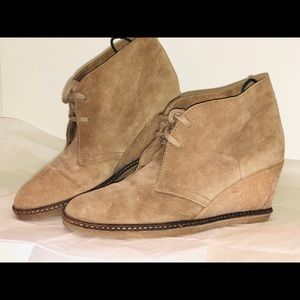 J.Crew leather wedge
